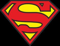 3 Colors Superman Free CDR Vectors Art