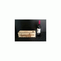 Wine Gift Box Free DXF File