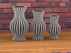 Laser Cutter Vase Project Ideas Free DXF File