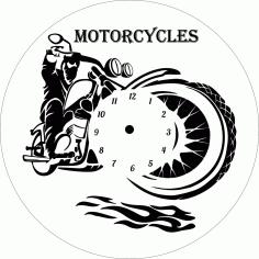 Motorcycles Free CDR Vectors Art
