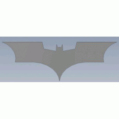 Batarang (the Dark Knight) Free DXF File