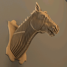 Animal Horse Head File For Cnc Laser Cut Free CDR Vectors Art