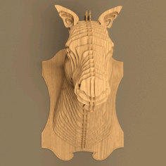 Horse Head File For Cnc Laser Cut Free CDR Vectors Art