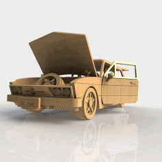 Amazing Wooden Car Diy 3d Puzzle Laser Cut Free DXF File