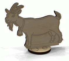 Wooden Animal Toy Decoration Laser Cutting Template Free CDR Vectors Art
