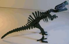 Laser Cut Spinosaurus Dinosaur 3d Puzzle Free DXF File