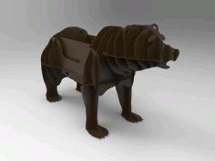 Cnc Plasma Cut Bbq Grill Bear Template Free CDR Vectors Art