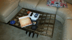 Coffee Table Laser Cut 3d Puzzle Free DXF File