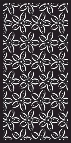 Laser Cut Pattern Design Vector Free DXF File