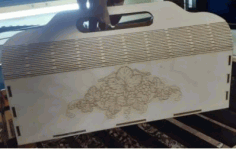 Wood Flower Box Ideas For Laser Cutting Free CDR Vectors Art