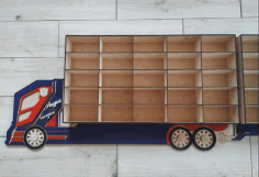 Wooden Toy Truck Plans Laser Cutting Free CDR Vectors Art