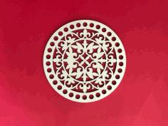 Ornament design Cnc Router Sample Free DXF File