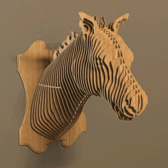Cnc Laser Cut Horse Head Bbq Free DXF File