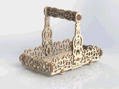 Amazing Laser Cut Basket Ideas Template Free CDR Vectors Art