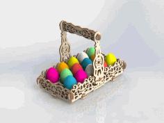 Amazing Laser Cut Basket Ideas Free DXF File