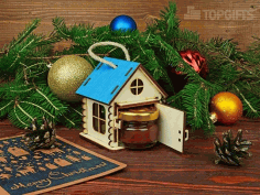 New year's Houses Souvenirs Free CDR Vectors Art