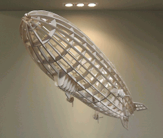 Rigid Airship Laser Cut Ideas Free CDR Vectors Art