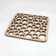 bubble-trivet Free DXF File