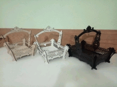 Laser Cut Storage Basket Free CDR Vectors Art