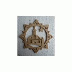 Stern Kirche Free DXF File