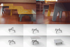 Low Table Free DXF File