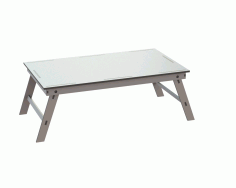 Notebook Table Free DXF File