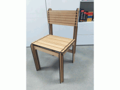 Opensource Laser Cut Chair Free DXF File