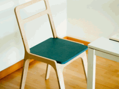 Slim Chair Nesting Free DXF File
