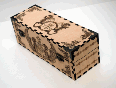 Decoration Box Dragon Cnc Router Free CDR Vectors Art
