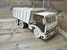 Wooden Truck Laser Cutting Cnc Free CDR Vectors Art