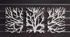 Tree Wall Hanging Cnc Free DXF File