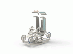 Cut Plasma Rocking Chair Free DXF File
