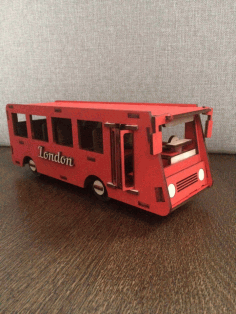 Wooden Bus Cnc Cutting Free CDR Vectors Art