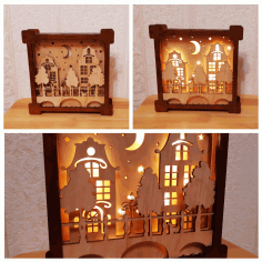 Wooden Frame Cnc Cutting Free CDR Vectors Art