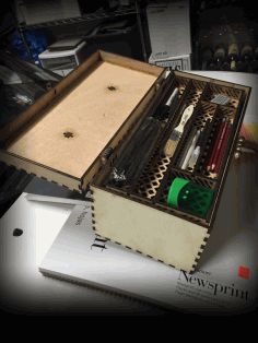 Tool Box For Laser Cutting Free CDR Vectors Art