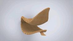 Parametric Chair Free CDR Vectors Art