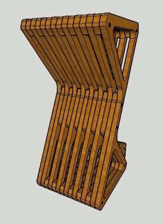 Parametric Delta Bar Stool Free CDR Vectors Art