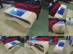 3d Puzzle Parametric Table Infinity Design Free CDR Vectors Art