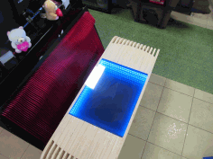 Cnc Cut Parametric Table With Infinity Free CDR Vectors Art