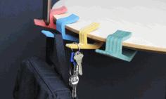 Laser Cut Table Hook Free CDR Vectors Art