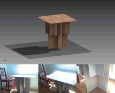 Portable Table Free DXF File