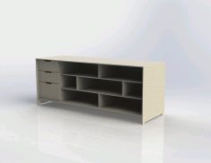 Shelf Table Free DXF File