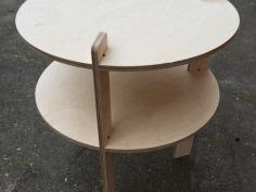 Laser Cut Wooden Table 15 Mm Free CDR Vectors Art