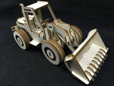 Bulldozer Laser Cut Plan Free CDR Vectors Art