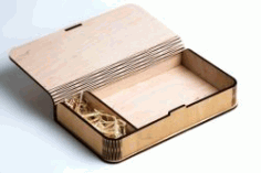 Cnc Laser Cut Wooden Box Free CDR Vectors Art