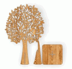Cnc Laser Cut The Assembly Tree Free CDR Vectors Art