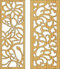 Cnc Laser Cut Wall Of Rose Thorns Free CDR Vectors Art