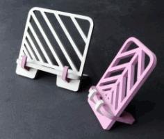 Cnc Laser Cut Wooden Simple Stand Free CDR Vectors Art