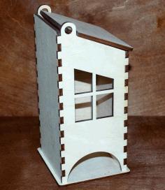 Laser Cut Tea Bag Holder Free CDR Vectors Art