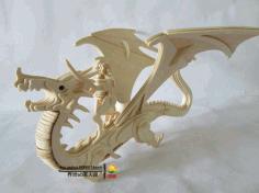 Dragonrider L 3 Mm Free DXF File